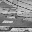 Tram rails — Stock Photo #10939083
