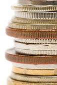 Close-up di monete — Foto Stock