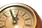 One o'clock — Stockfoto