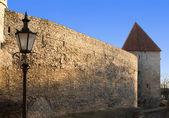 タリン、エストニア。要塞の塔. — ストック写真