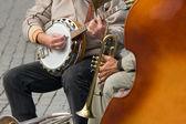 Street Jazz — Stock Photo