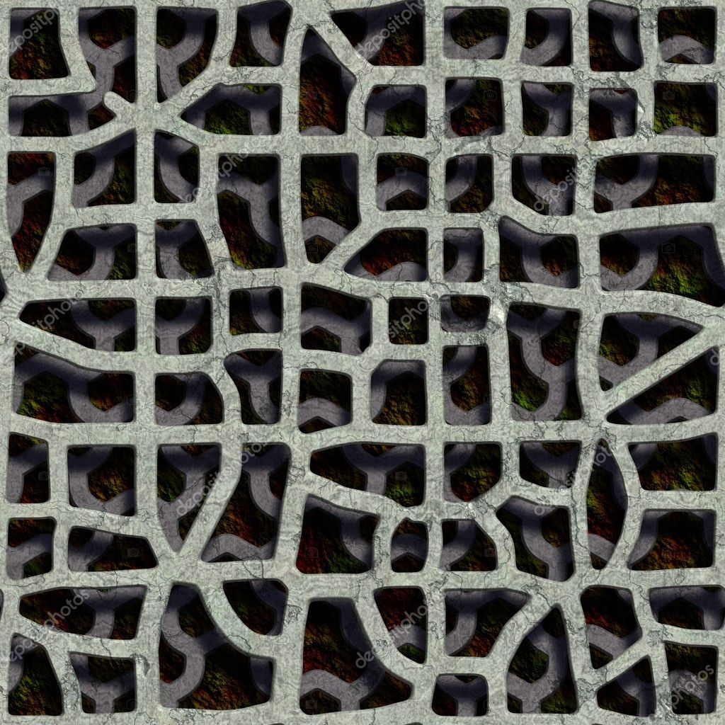 Double grate. Seamless texture. — Stock Photo #10932984