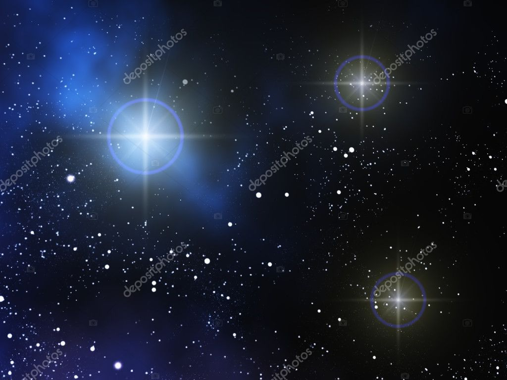 Space background. — Stock Photo #10933465