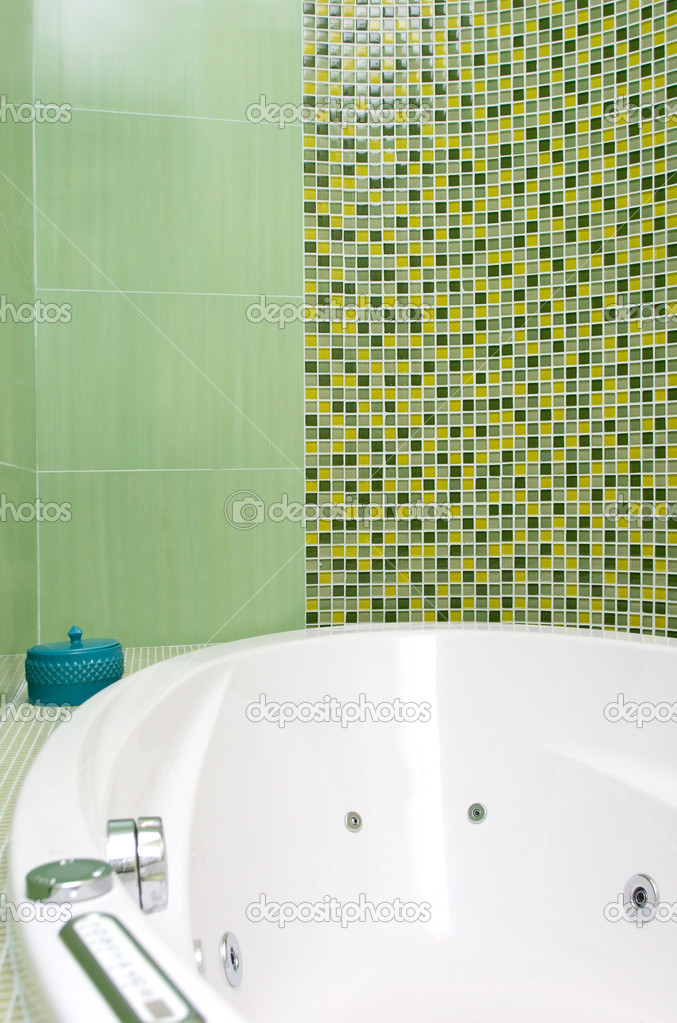 Modern bathroom interior. — Stock Photo #10938597