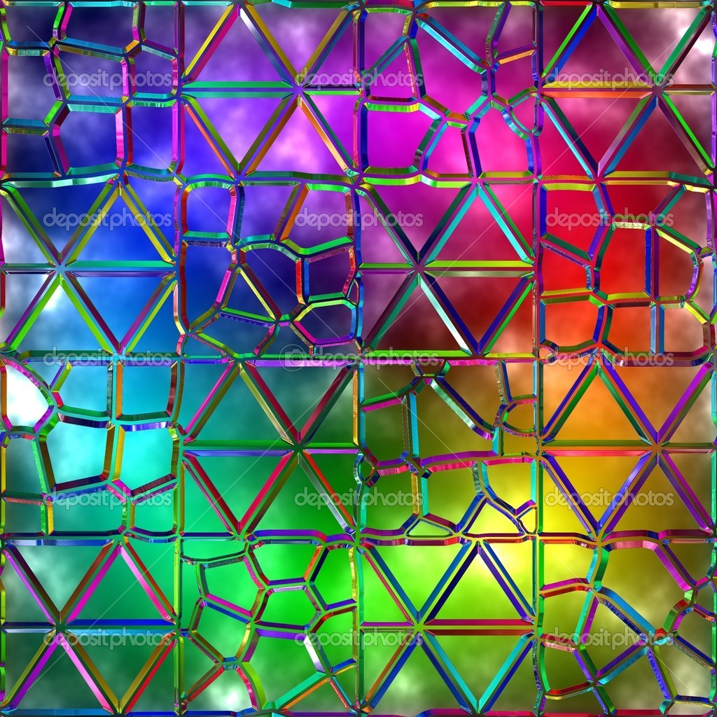 Variegated glass. Seamless texture. — Stock Photo #12123384