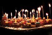 Födelsedagstårta — Stockfoto