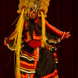 Folklore dancer from Sri Lanka - Stock Photo