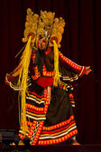 Folklore dancer from Sri Lanka — Stock Photo