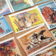 Set of stamps on holidays republics of CIS, 1991 — Stock Photo #11312003