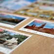 Stamps about Munich — Stock Photo