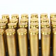 .306 Caliber Rifle Bullets — Stock Photo