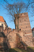 Torun in Poland, Leaning tower — Stock Photo