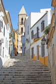Small street in Jerez de la Frontera, Spain — Stock Photo