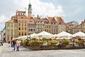 Old Town Market Place in Warsaw, Poland — Stock Photo