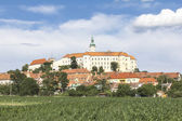 Mikulov Castle, Moravian Region in Czech Republic — Stock Photo