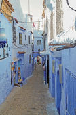 The streets in Chefchaouen,Morocco — Stock Photo