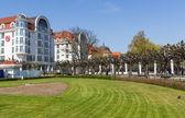 Hotely v sopotech v polsku — Stock fotografie