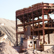 Abandoned mine structure - Stock Photo