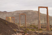 Abandoned mine structure — Stock Photo