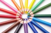 Set kleurpotloden — Stockfoto