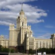 Stalin's building on Kotelnicheskaya embankment in Moscow, Russi — Stock Photo