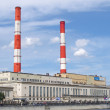Heat station in Moscow — Stock Photo #11813629