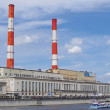 Heat station in Moscow — Stock Photo
