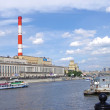 Heat station in Moscow — Stock Photo #11813645