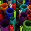 Colorful Plastic Pipes — Stock Photo #12127105