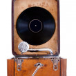 Vintage gramophone — Stock Photo