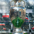 UEFA cup trophy — Stock Photo