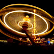 Carousel in funfair — Stock Photo