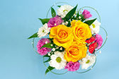 Spring flowers bouquet — Stock Photo
