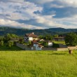Beautiful balkan farmhouse — Stock Photo