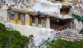Besarbovo rock monastery — Zdjęcie stockowe