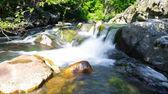 Little waterfall in Miykovtsi village 2 — Stock Photo