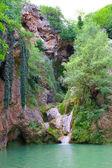 Kaya bunar waterfall 4 — Stock Photo