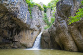 Emen waterfall — Stock Photo