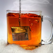 A cup of tea in sugar - Stock Photo