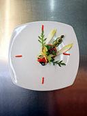 Food clock — Stock Photo