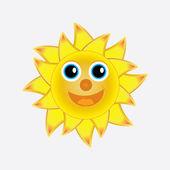 Słońce tło — Wektor stockowy