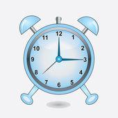 Klockan vektor — Stockvektor