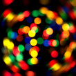 Stock Photo: Defocused abstract christmas background