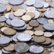 Silver and bronze Coins — Stock Photo