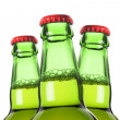 Row of beer bottles — Stock Photo #11017633