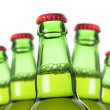 Row of beer bottles — Stock Photo #11017648