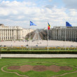 Boulevard view from the Palace of Parliament — Stock Photo #10971143