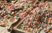 Colorful candies for sale — Stock Photo