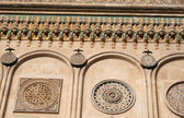 Richly ornamented facade — Stock Photo