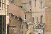 Ancient buildings of Vatican City — Stock Photo